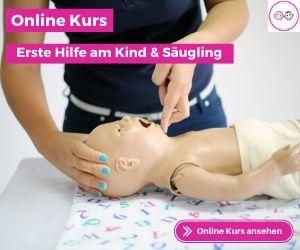 Online Kurs Erste Hilfe am Kind